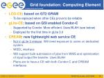 grid foundation computing element