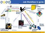 job workflow in glite1