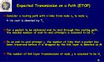 expected transmission on a path etop2