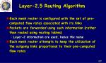 layer 2 5 routing algorithm