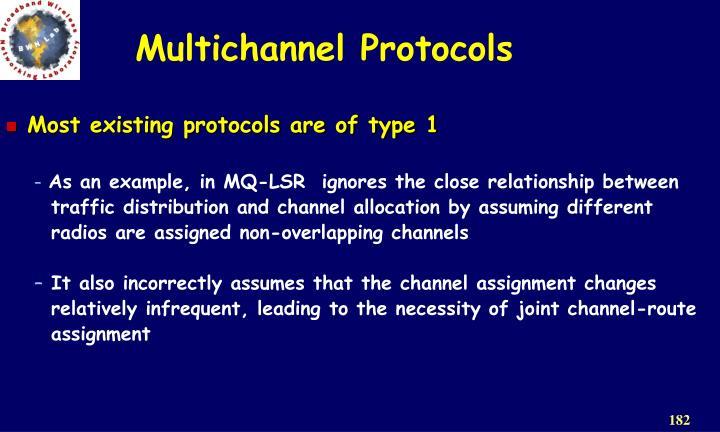 Multichannel Protocols