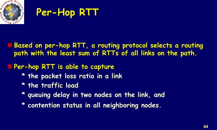 Per-Hop RTT