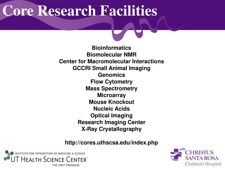 Core Research Facilities