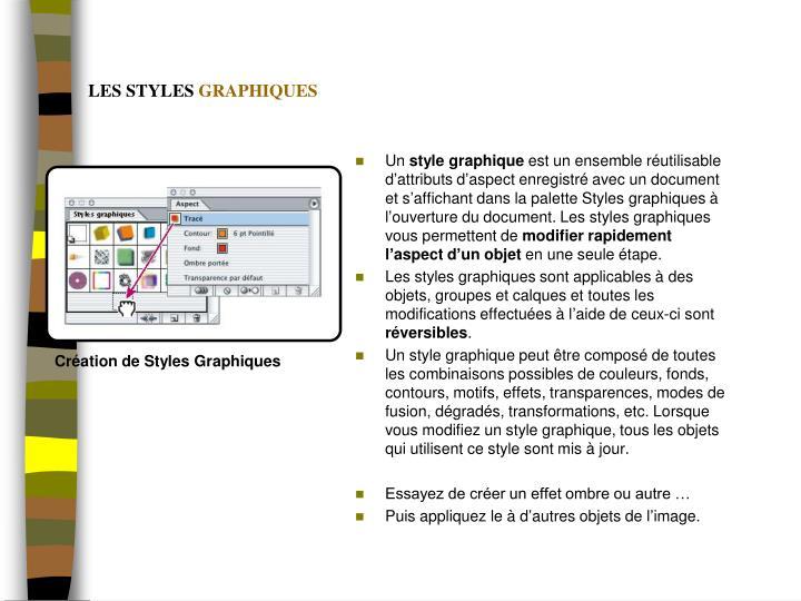 Création de Styles Graphiques