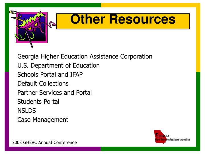 Georgia Higher Education Assistance Corporation