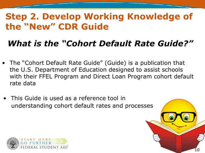 "Step 2. Develop Working Knowledge of the ""New"" CDR Guide"