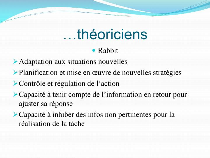…théoriciens