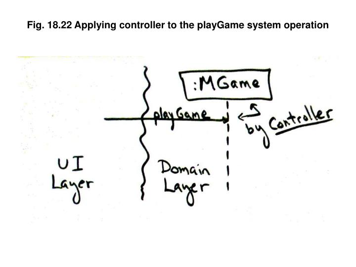 Fig. 18.22 Applying controller to the playGame system operation
