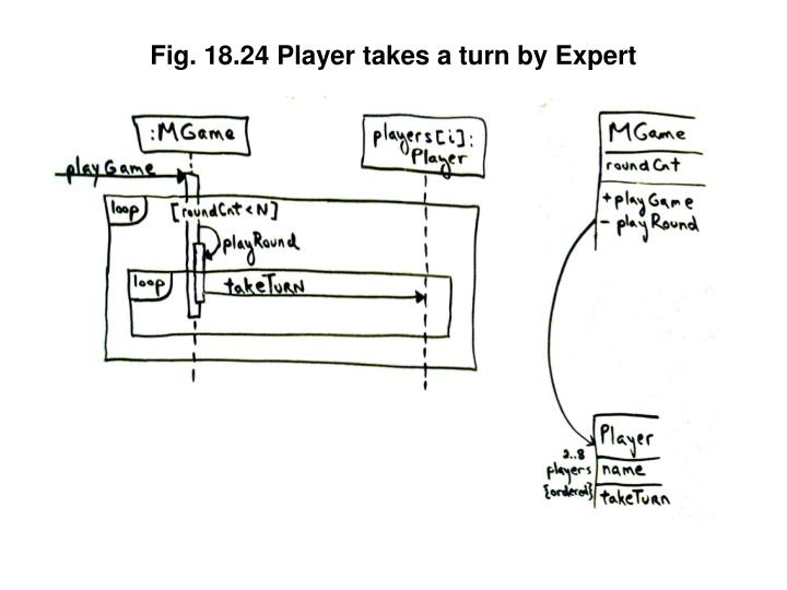 Fig. 18.24 Player takes a turn by Expert