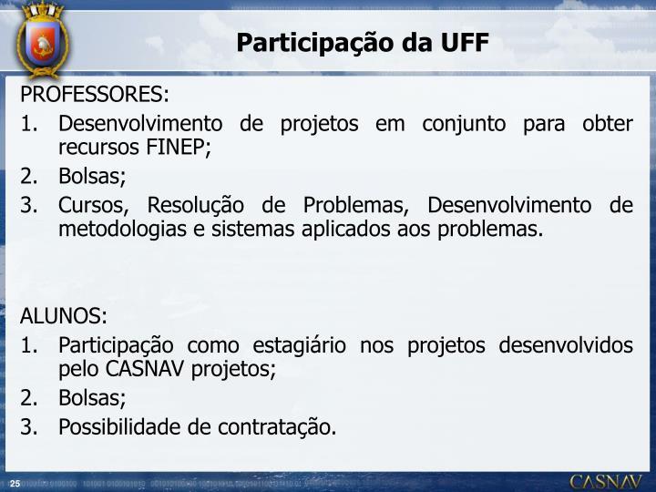 Participação da UFF