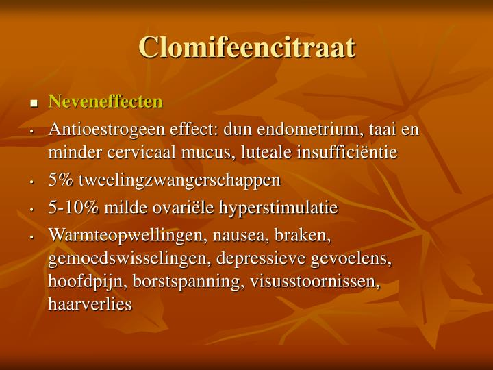 Clomifeencitraat