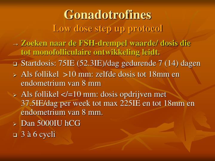 Gonadotrofines