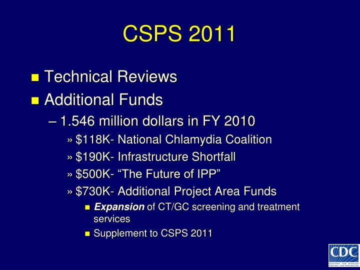 CSPS 2011