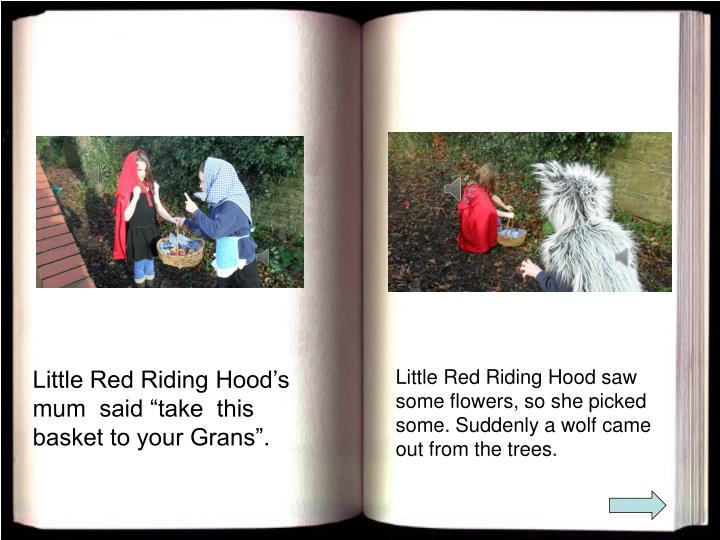 Little Red Riding Hood's mum