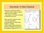 keynesian vs new classical