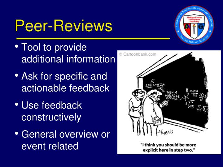 Peer-Reviews