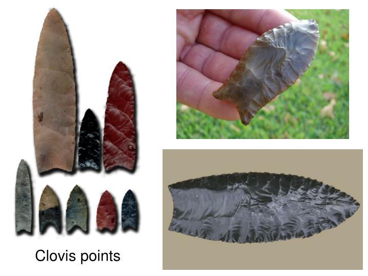 Clovis points