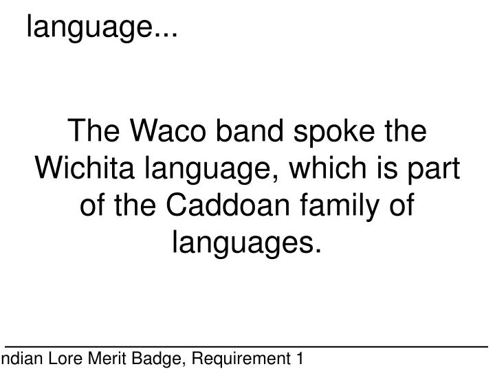 language...