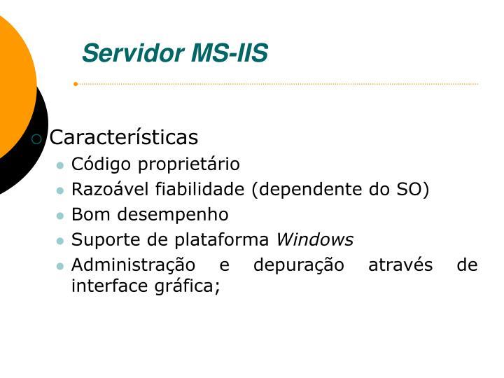 Servidor MS-IIS