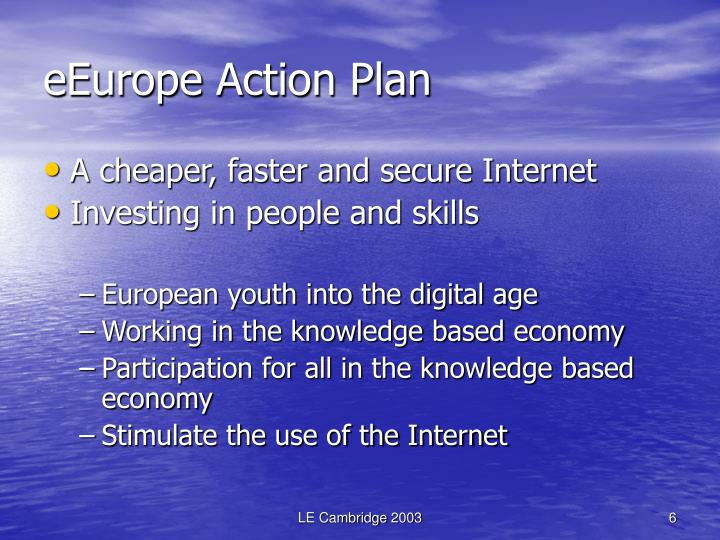 eEurope Action Plan