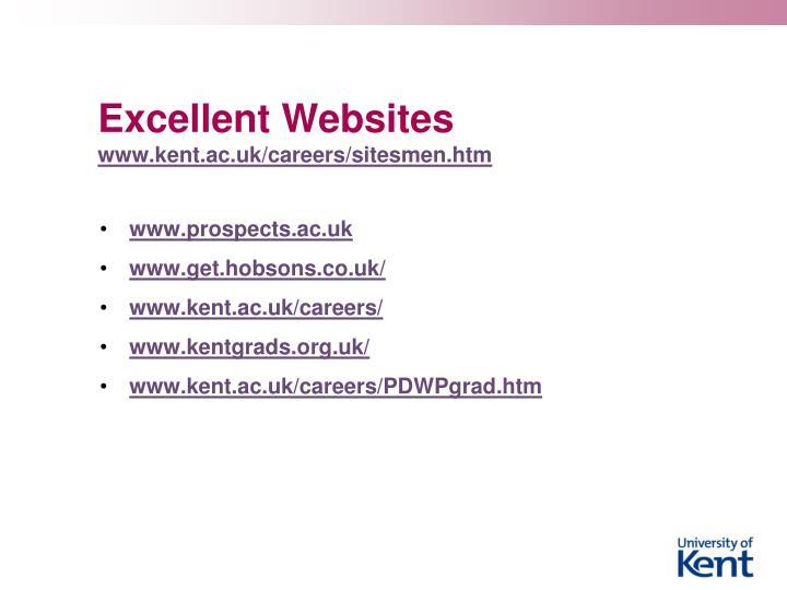 Excellent Websites