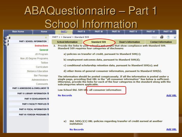 ABAQuestionnaire