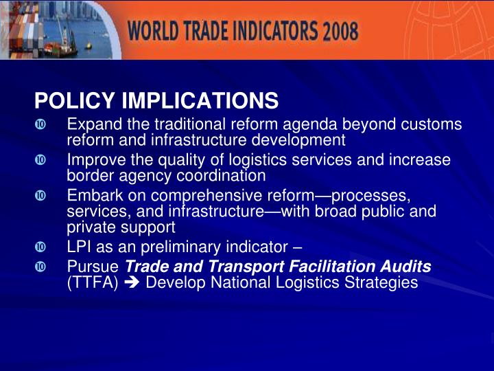 Key Policy Implications