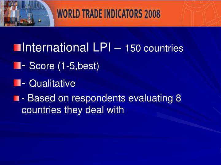International LPI –