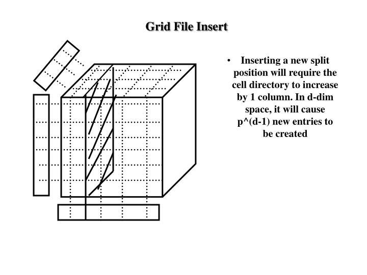 Grid File Insert