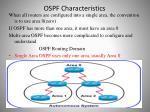 ospf characteristics5