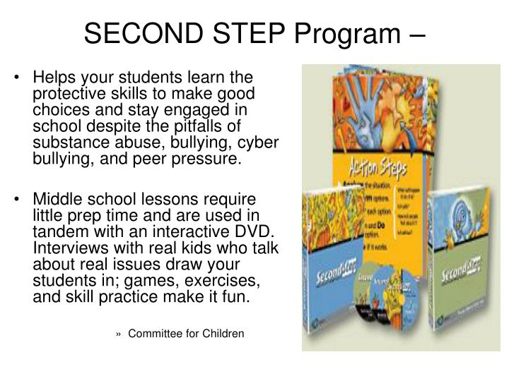SECOND STEP Program –