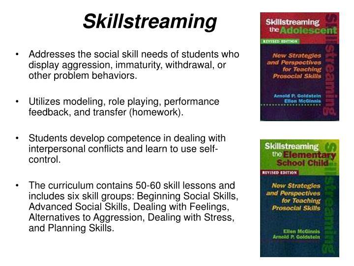 Skillstreaming
