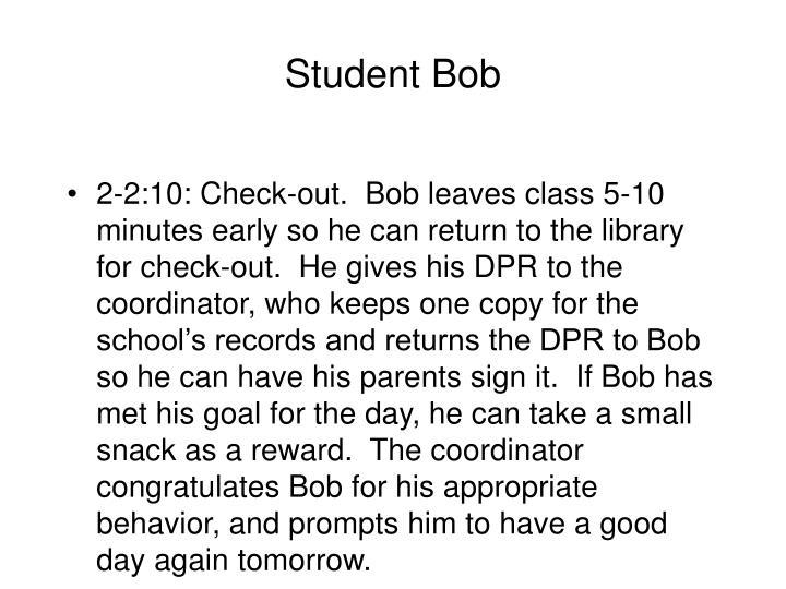 Student Bob