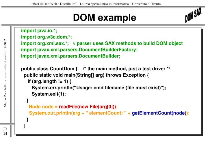 DOM example