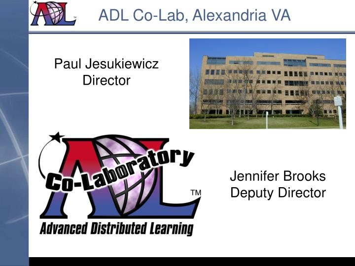 ADL Co-Lab, Alexandria VA