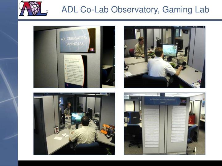 ADL Co-Lab Observatory, Gaming Lab