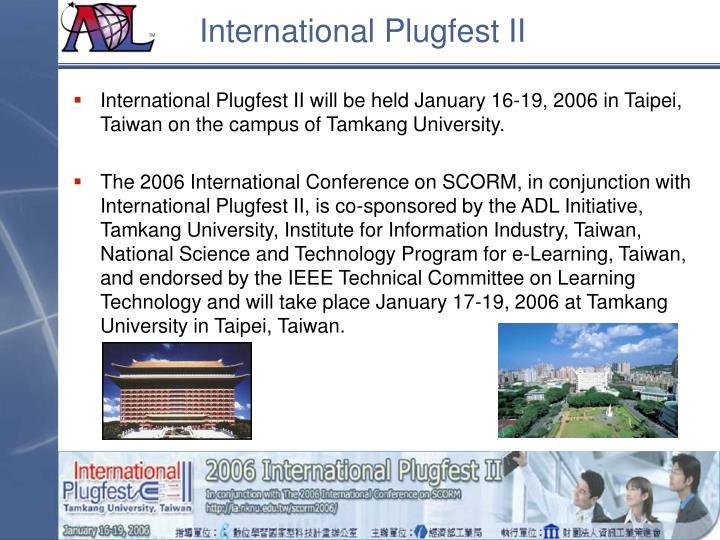 International Plugfest II
