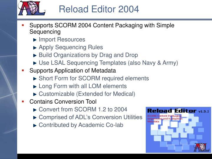 Reload Editor 2004
