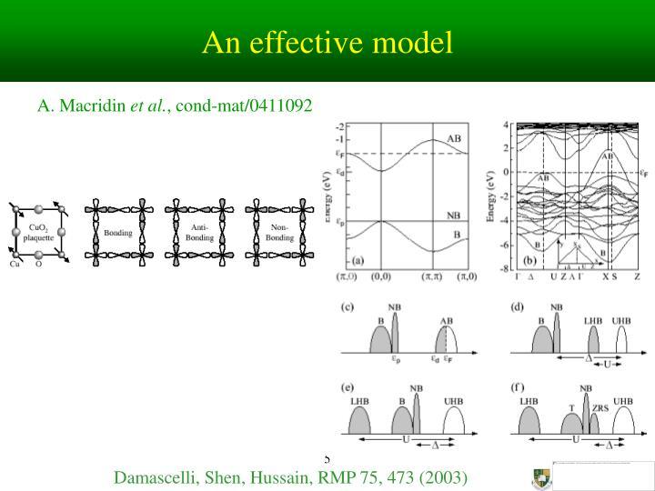 An effective model
