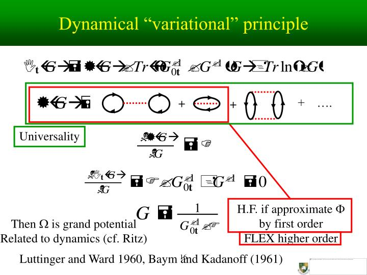 "Dynamical ""variational"" principle"