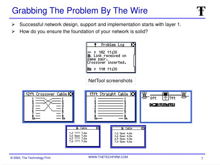 Grabbing The Problem By The Wire