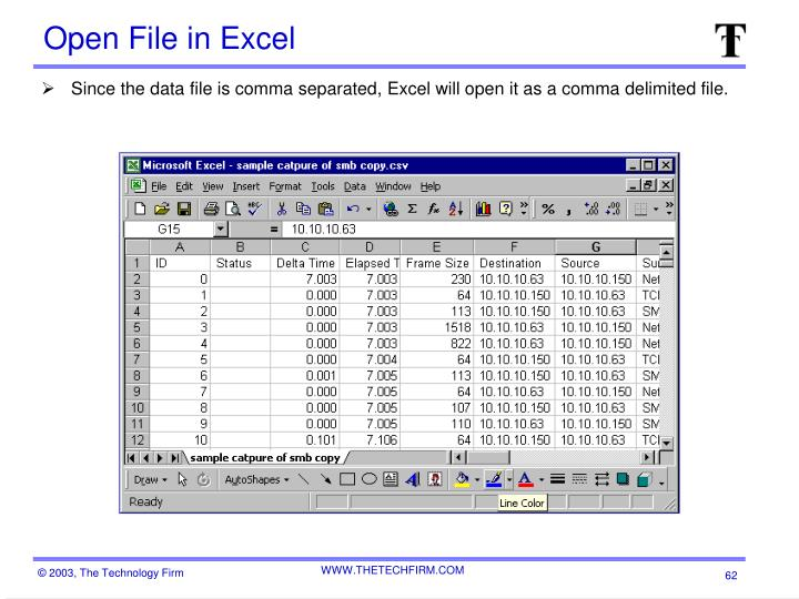 Open File in Excel