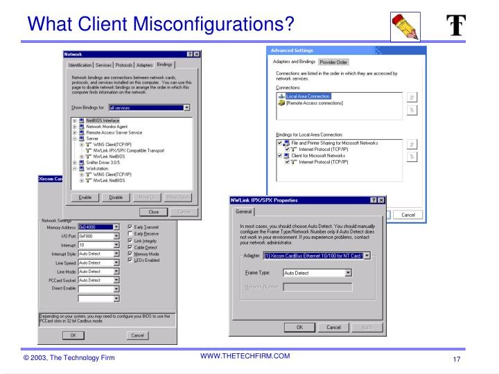 What Client Misconfigurations?
