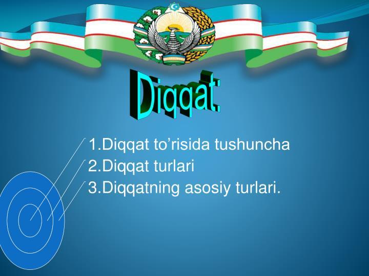 Diqqat: