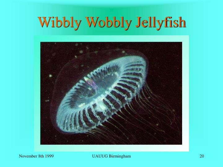 Wibbly Wobbly Jellyfish