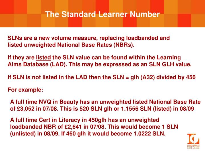 The Standard Learner Number