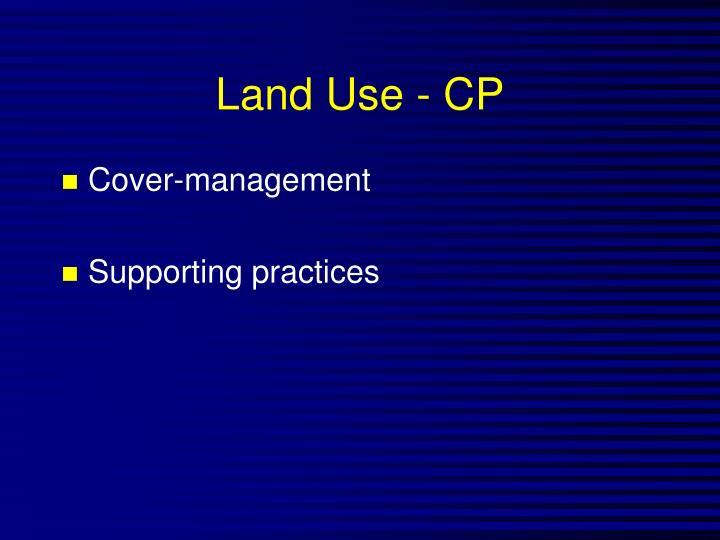 Land Use - CP