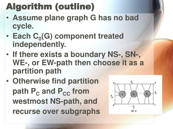 Algorithm (outline)