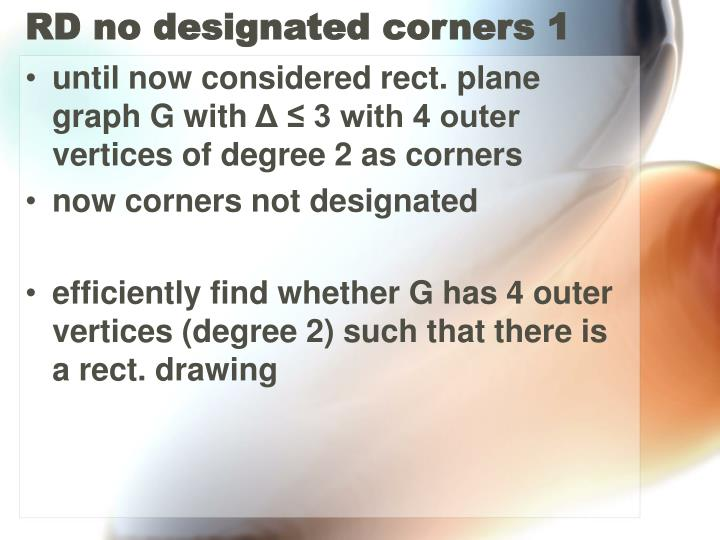 RD no designated corners 1