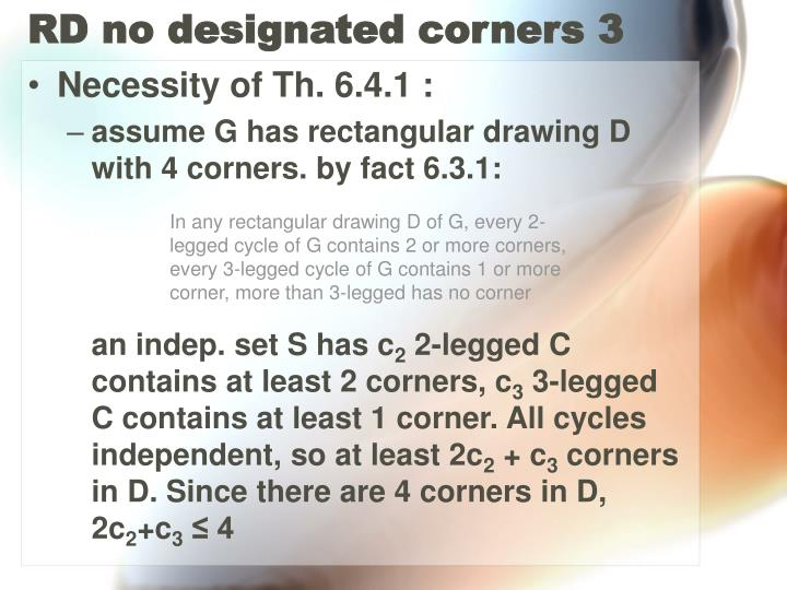 RD no designated corners 3